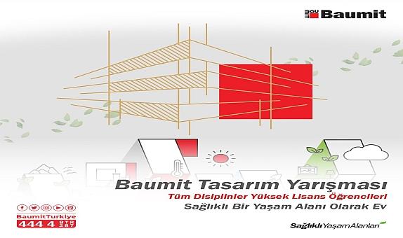 """Baumit'ten """"Sağlıklı Bir Yaşam Alanı Olarak Ev"""" Temalı Tasarım Yarışması"""
