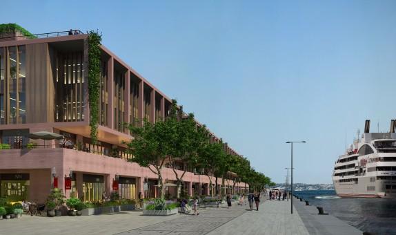 Galataport İstanbul'da Knauf Güvencesi