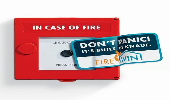 Knauf FireWin ile Yaşam Alanlarımız Yangına Karşı Güvende