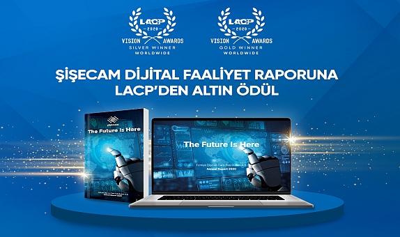 """Şişecam Dijital Faaliyet Raporu ile LACP'den """"Altın Ödül"""" Kazandı"""
