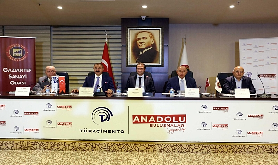 TÜRKÇİMENTO'nun Anadolu Buluşmaları Gaziantep'te Yapıldı