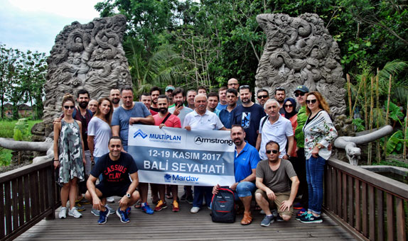 Mardav Yalıtım Müşterileriyle Bali'de Bir Araya Geldi