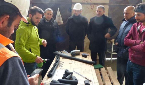 Armacel Akademi, Çamlıca Camii Şantiyesinde Uygulama Eğitimi Verdi