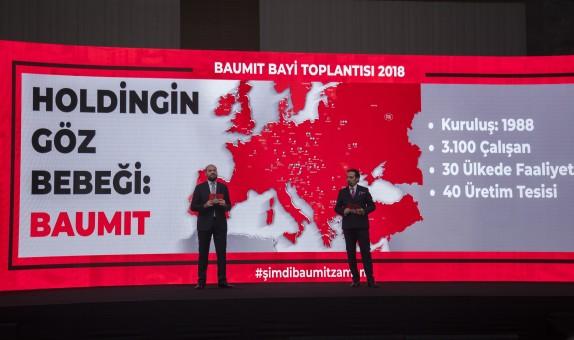Baumit, Bayileriyle Kıbrıs'ta Buluştu