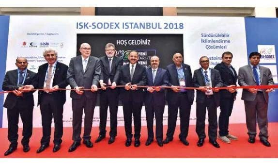 Yalıtım sektörünün de büyük ilgi gösterdiği ISK-SODEX