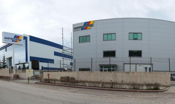Austrotherm'in Ankara Fabrikası Açıldı