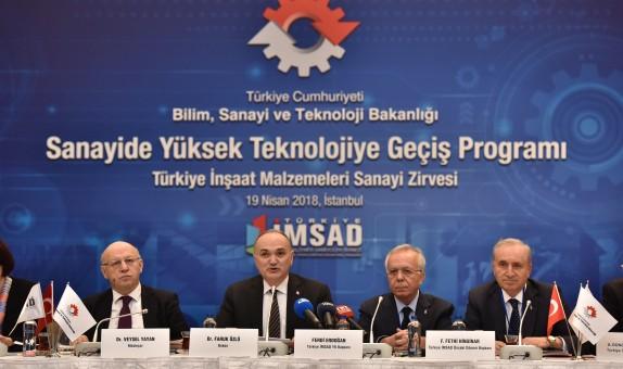 Türkiye İnşaat Malzemesi Sanayi Zirvesi