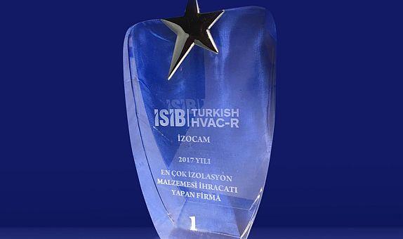 İzocam'a İhracat Ödülü