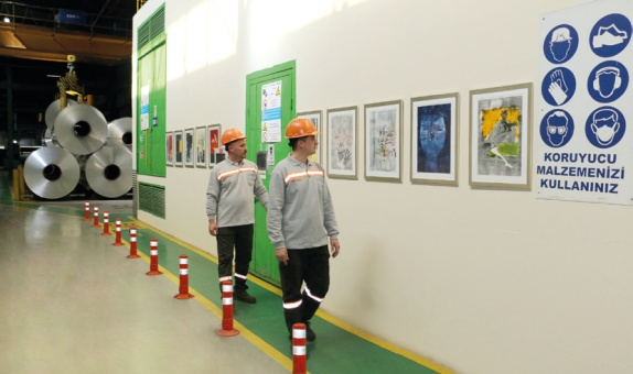 Assan Alüminyum'un Fabrikası Galeriye Dönüştü