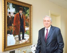 Türkiye İMSAD ve Türk Ytong Yönetim Kurulu Başkanı F. Fethi Hinginar