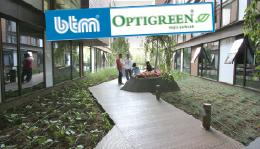 Rönesans Mecidiyeköy İş Merkezi Yeşil Çatı Uygulaması