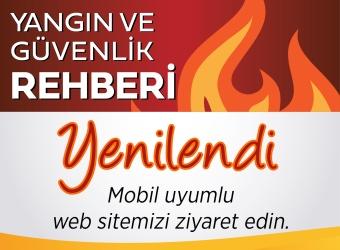 Yangın ve Güvenlik Rehberi Yenilendi...