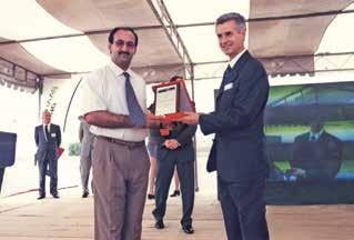 Braas Çatı Sistemleri Açılışı - Plaket Sunumu (1999)